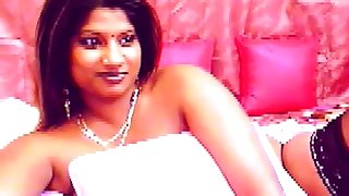 Busty Indian unreserved anent big dark areolas
