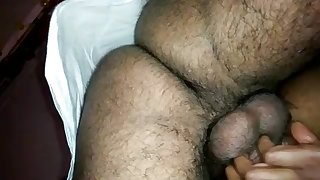 Indian lady groaning to the fullest plowed from behind