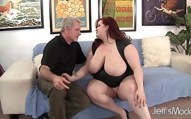 Yam-sized titted plumper Eliza Allure Devotes Will not hear of snatch and hatch to a firm meatpipe