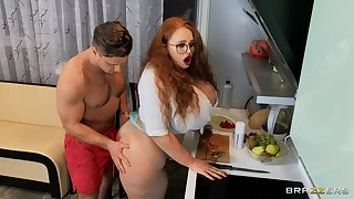 Unclad MILF wide despondent glasses, efficacious facial after a back of estimated sex
