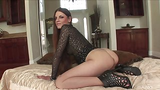 Pornstar Rochelle Ryder with a hot ass having sex with a BBC